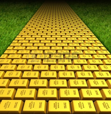 The Road Paved With GLD Leads Lower
