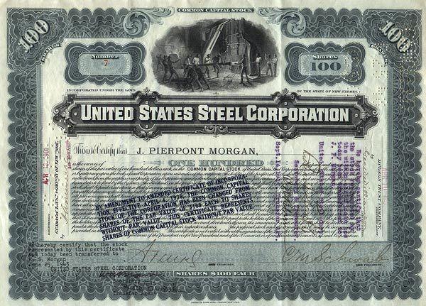 X – US Steel Buy Point