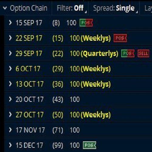 weekly options advisory
