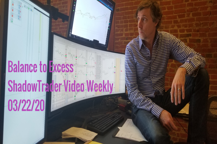 ShadowTrader Video Weekly 03.22.20 | Balance to Excess