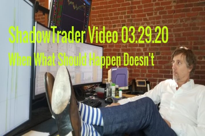 ShadowTrader Video Weekly 03.29.20 | When What Should Happen Doesn't