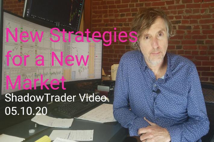 ShadowTrader Video Weekly 05.10.20 | New Strategies for a New Market
