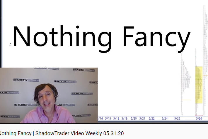 ShadowTrader Video Weekly 05.31.20 | Nothing Fancy