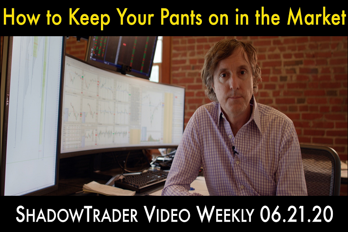 ShadowTrader Video Weekly 06.21.20 | How to Keep Your Pants On in the Market
