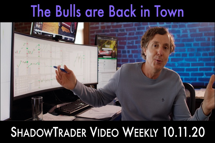 ShadowTrader Video Weekly 10.11.20 | The Bulls Are Back in Town!