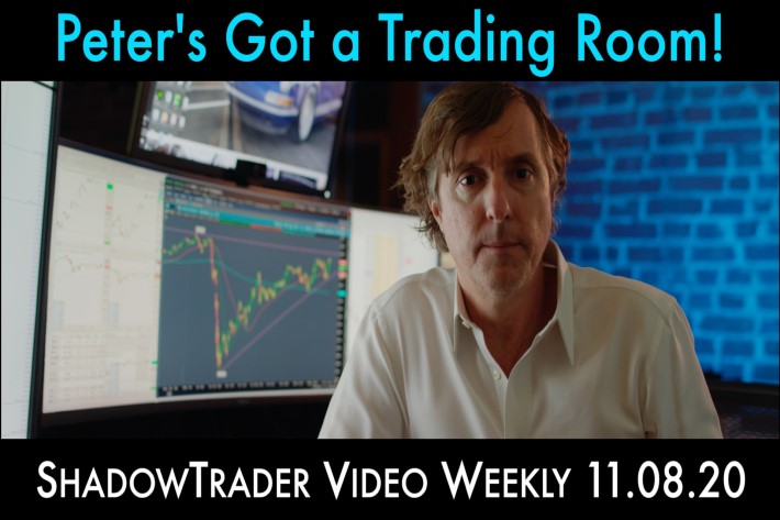 Peter's Got a Trading Room | ShadowTrader Video Weekly 11.08.20