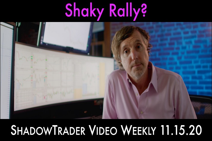 Shaky Rally? | ShadowTrader Video Weekly 11.15.20
