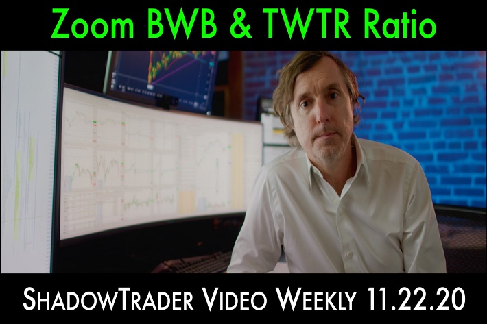 Live Trades: Zoom BWB & Twitter Ratio | ShadowTrader Video Weekly 11.22.20