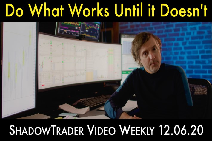 Do What Works Until it Doesn't | ShadowTrader Video Weekly 12.06.20