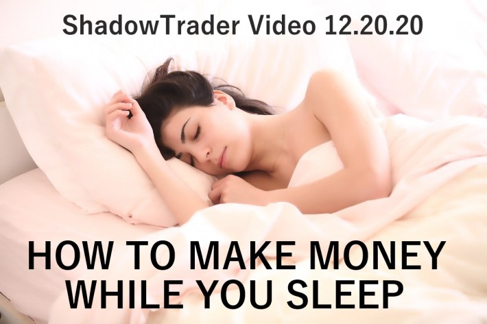 How to Make Money While You Sleep | ShadowTrader Video Weekly 12.20.20