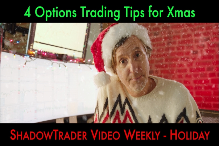 4 Options Trading Tips for Xmas | ShadowTrader Video Weekly 12.24.20