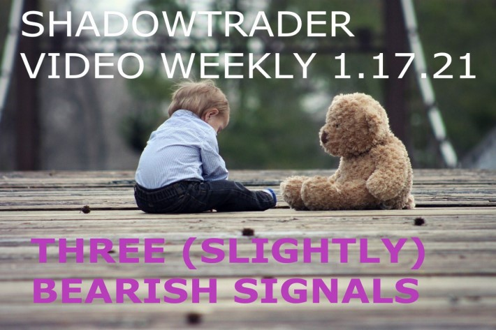 Three (slightly) Bearish Signals | ShadowTrader Video Weekly 01.17.21