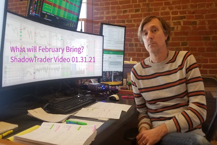 What Will February Bring? | ShadowTrader Video Weekly 01.31.21