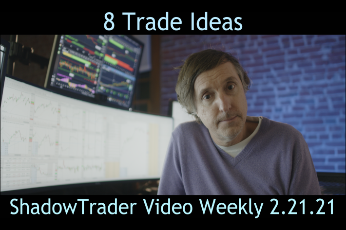 8 Trade Ideas | ShadowTrader Video Weekly 02.21.21