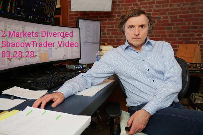 Two Markets Diverged… | ShadowTrader Video Weekly 03.28.21