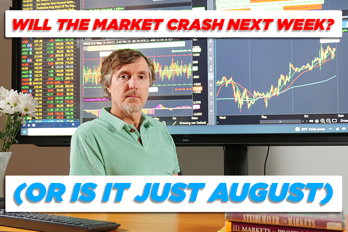 Will the Market Crash Next Week? (Or is it just August) | ShadowTrader Video Weekly 08.08.21