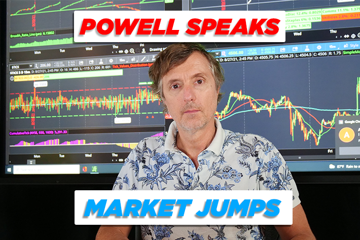 Powell Speaks – Market Jumps | ShadowTrader Video Weekly 08.29.21